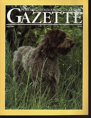 AKC American Kennel Gazette May 1994, Wirehaired Griffon, Spotlight Specialty