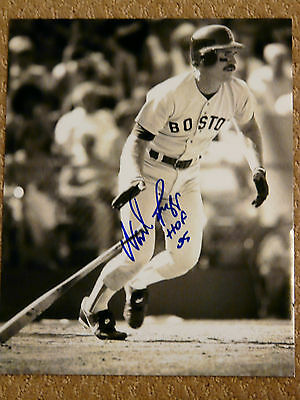 Wade Boggs Boston Red Sox autographed 8x10 photo COA