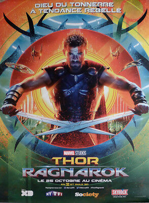 Thor Ragnarok - Hulk / Marvel - Rare Original Character Movie Poster Bus Shelter