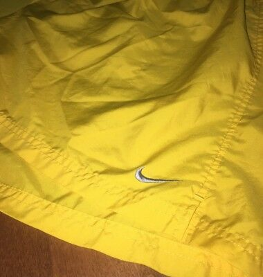 Men's Nike Dri Fit Shorts Size Xxl Fit Swoosh Check Silver USA Running Athletic