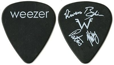 Weezer authentic 2005 Make Believe concert tour custom stage band Guitar Pick