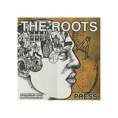 The Roots authentic Press 2000's tour Backstage Pass