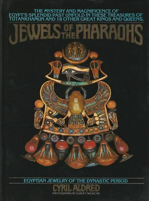 CYRIL ALDRED Jewels Of The Pharaohs 1978 HC Book