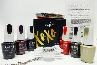 LOVE OPI Nail GelColor XOXO PROHEALTH Pro Health GEL COLOR  Kit #2 ~6ct~