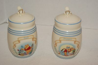 Lenox Collections The Pooh Pantry Salt & Pepper Shakers Set w/COA - No Box