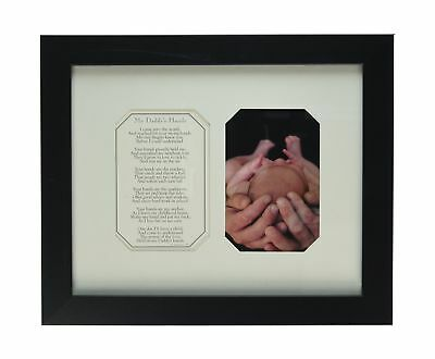The Grandparent Gift Co. Photo Frame My Daddy's Hands NO TAX