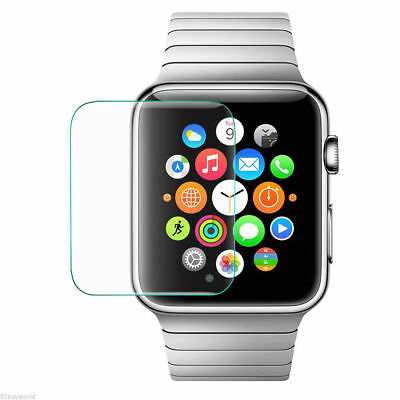 2X Tempered Glass Screen Protector Guard Shield For Apple Watch Series 3 38 mm