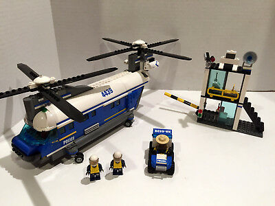 lego police helicopter instructions 4439