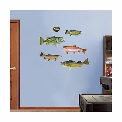 FATHEAD Game Fish Graphic Wall Dcor NO TAX