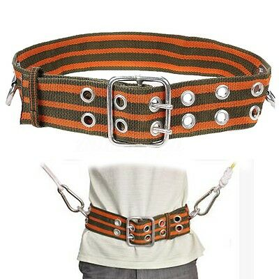 Outdoor Camping Rock Climbing Harness Safety Belt Equipment 2 D-Ring Adjustable