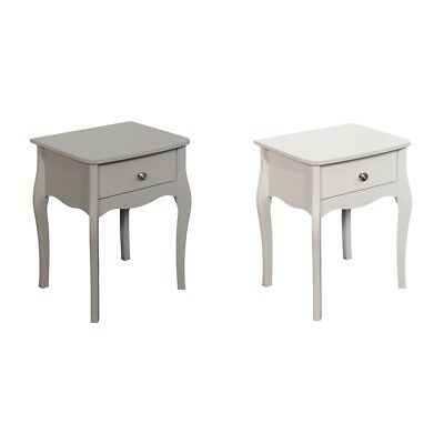 Baroque 1 Drawer Bedside Chest - Choice of Grey / White. From Argos on ebay