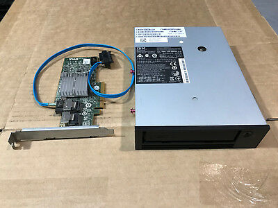 DELL YP47C HH Internal SAS LTO4 Tape Drive IBM 12X4239 LTO-4 w/ Dell Perc H200