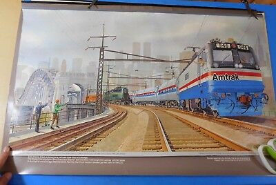 Calendar Tops Amtrak Lot of 3 by Gil Reid National Limited Horseshoe Curve