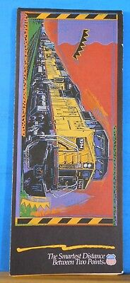 Map Union Pacific Railroad Map 1994 20x32