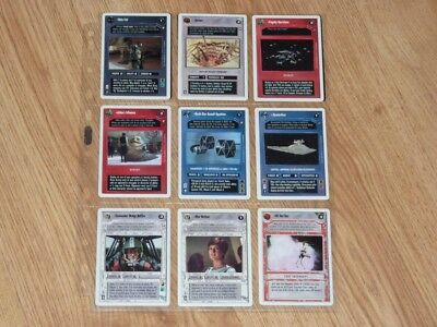 Star Wars CCG Preview Set - Full Set 12 Preview Cards - 1st 2nd Anthology - WB
