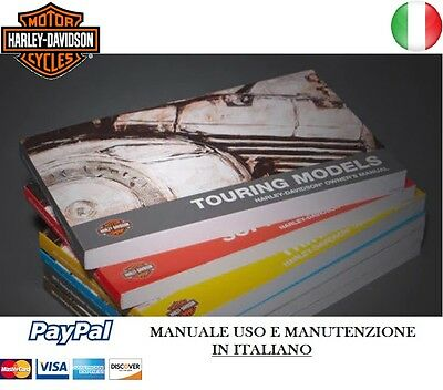 Manuale Uso Manutenzione Harley Davidson Touring Dyna Sportster Touring Softail