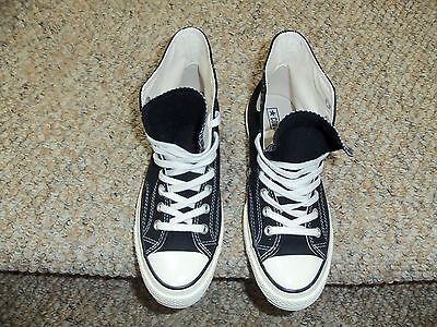 Vintage Re-Make Hi Top Converse All Star Black, Mens Size 7