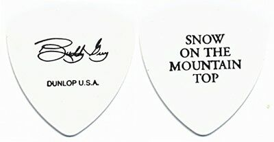 Buddy Guy  authentic 2003 tour signature Guitar Pick Snow on the Mountain Top