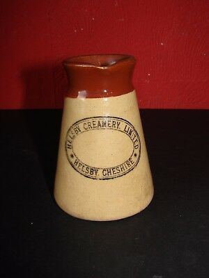 Antique Cream Jug Helsby Cheshire
