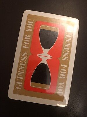 Rare Vintage APCC Sealed & Unopened Guinness For You Playing Cards & Case