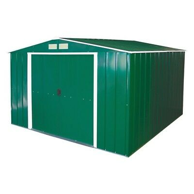 Extra Large Storage Shed 10X10 Metal Outdoor Garden Patio All Weather Lockable