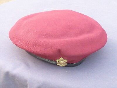 Thailand Boy Scouts Beret Complete With Badge