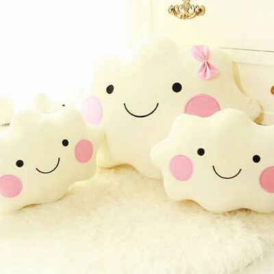 Cloud Shaped Cushion Pillow Soft Toy Baby Nursery Kids Sofa Car Decor Surprise