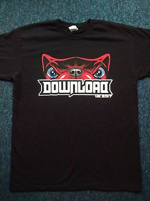 DOWNLOAD FESTIVAL SHIRT 2017.Size XL.