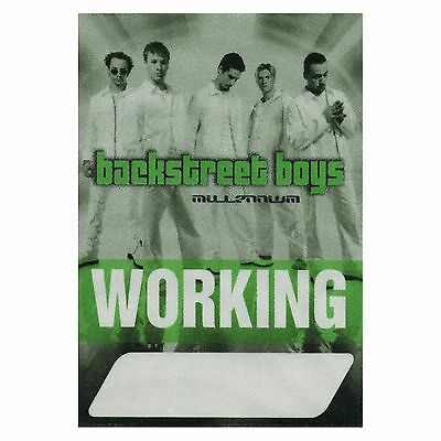 Backstreet Boys authentic Working 2000 tour Backstage Pass