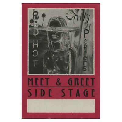 Red Hot Chili Peppers authentic Meet & Greet 2002-2003 tour Backstage Pass