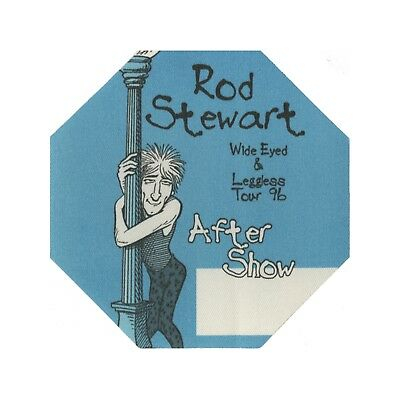 Rod Stewart authentic Aftershow 1996 tour Backstage Pass