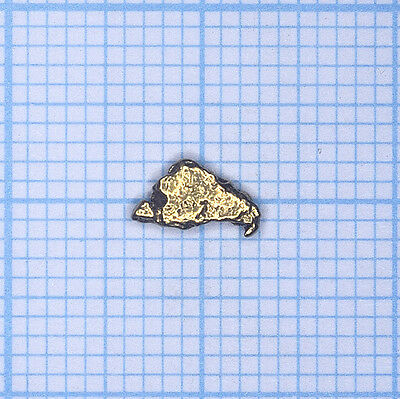 0,205 gramme, pépite d'or naturel de Deadwood creek Gold nugget (735)