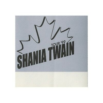 Shania Twain authentic VIP 1999 tour Backstage Pass