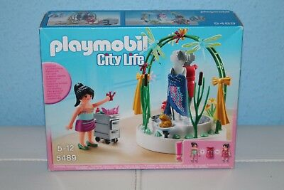 PLAYMOBIL ® 5489 Dekorateurin mit LED-Podest  / NEU / OVP