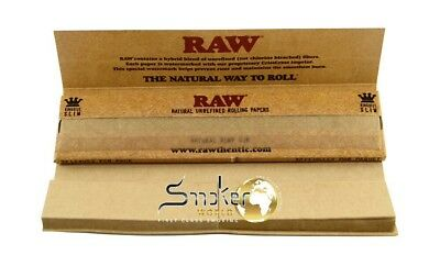 3 × RAW® Classic Connoisseur King Size Slim Paper & Tips