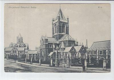 AK Dublin, Christuschurch Cathedral, 1910