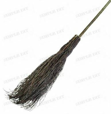 Traditional Witches Beasom Broom Broomstick Sweeping Brush Halloween