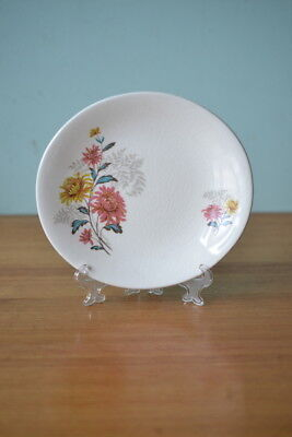 Vintage fine china saucer / plate Grindley  England flowers