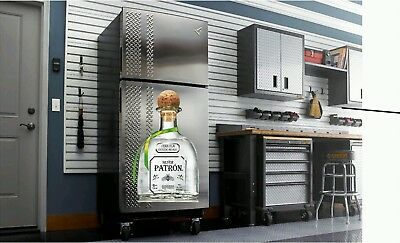 Patron Tequila decal fathead sticker dorm room garage man cave bar She Shed