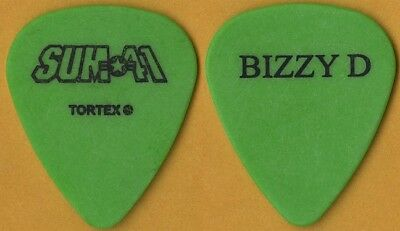 Sum 41 Deryck Bizzy D Whibley 2003 Does This Look Infected band tour Guitar Pick