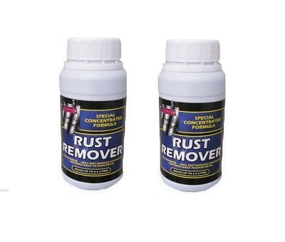 Concentrated Rust Remover For Home & Garage Metal Makes 2.0L 200ML