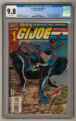 G.I. Joe: Special #1 CGC 9.8 (W) Spider-Man #1 Cover Homage