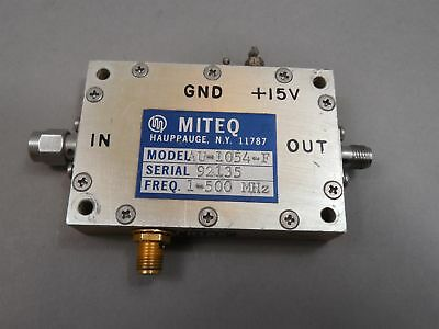 Miteq AU-1054-F Amplifier - Used