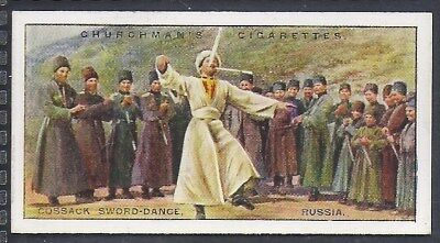 Churchman-Sports & Games In Many Lands-#19- Cossack Sword Dance - Russia