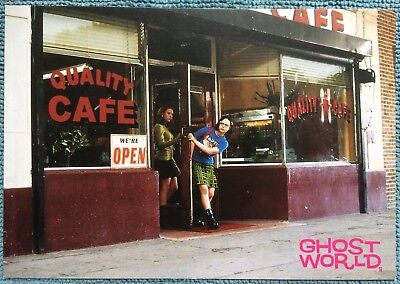 Ghost World - Vintage Postcard - Cinema Release Time - New Condition