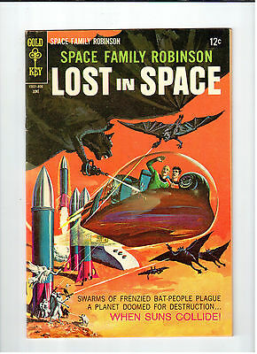 Gold Key SPACE FAMILY ROBINSON LOST IN SPACE #28 June 1968 vintage comic