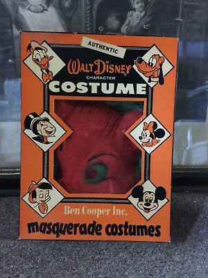 Vintage, Antique, Ben Cooper fox Halloween costume. In Disney box. Size 8/10