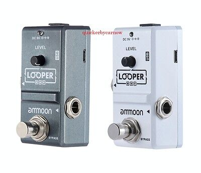 Rowin 'Mini' Looper Guitar Pedal - 10 Minutes Recording
