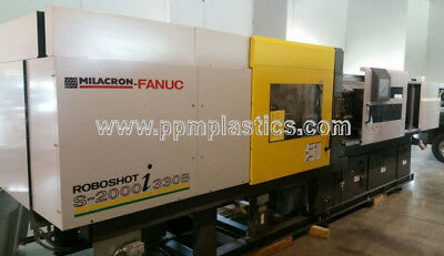 2009 Roboshot 330-21.28 (F6800AA010051), used plastic injection molding machine