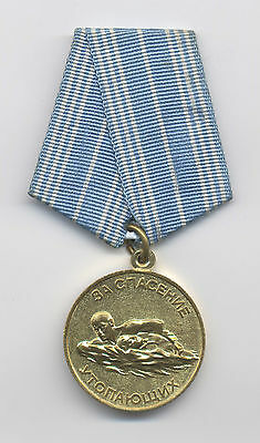 SOVIET Medal for Saving Life From Drowning